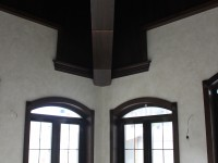 Выполненные кессонные потолки из дерева - Фото 1