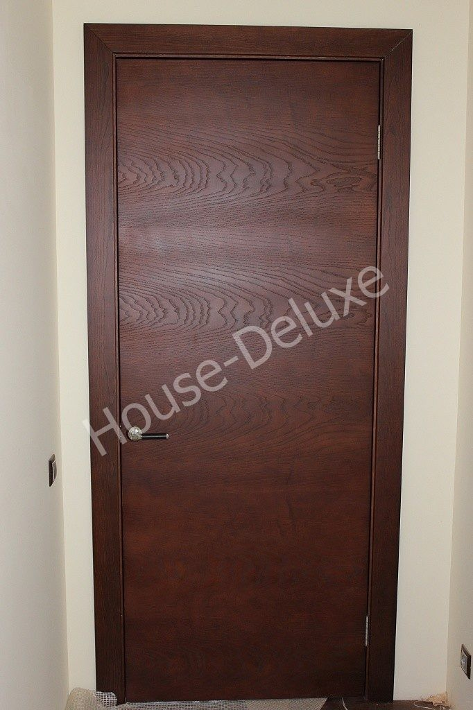 Межкомнатные гладкие двери