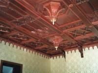 Выполненные кессонные потолки из дерева - Фото 10