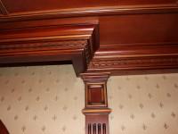 Выполненные кессонные потолки из дерева - Фото 11