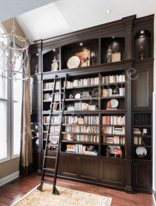 Элитные шкафы для библиотеки