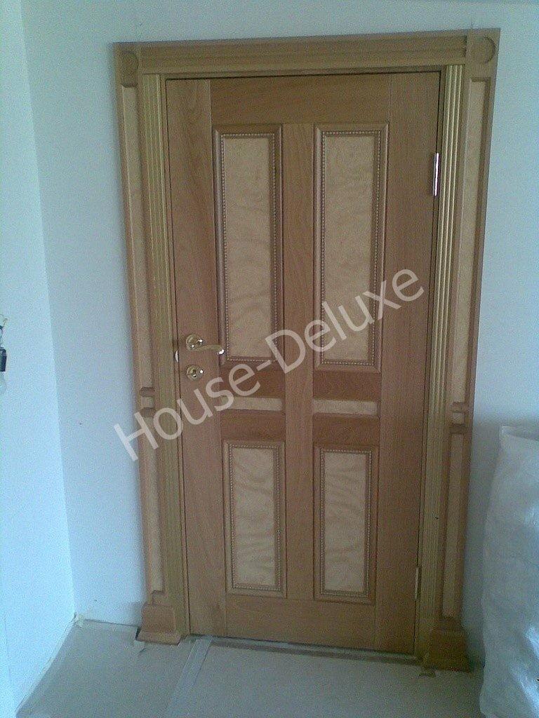 Двери с инкрустацией из шпона