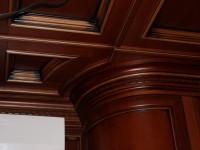 Выполненные кессонные потолки из дерева - Фото 2