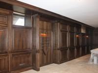 Выполненные на заказ стеновые панели из массива дерева - Фото 2