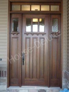 Двери из массива ясеня