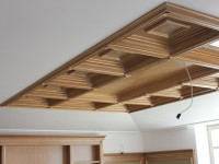 Выполненные кессонные потолки из дерева - Фото 6