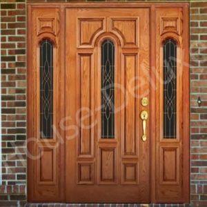 Входные двери с кованым декором