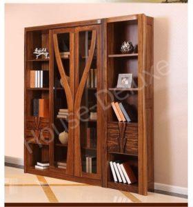 Шкаф из массива для книг