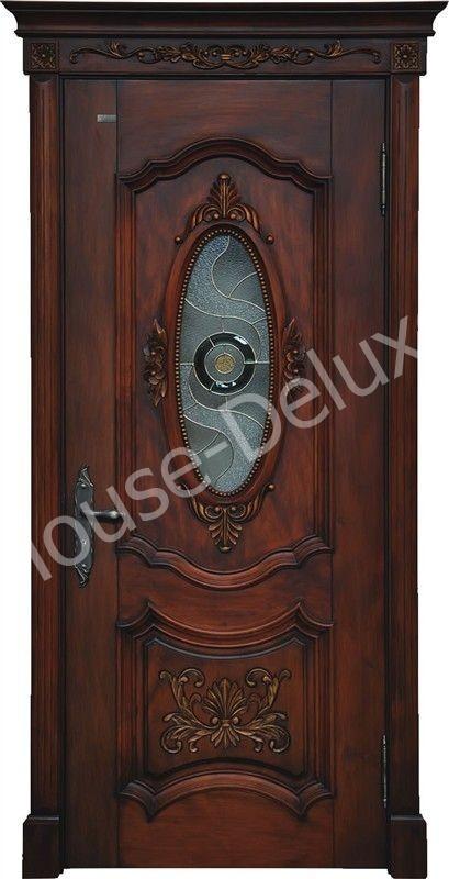 Двери с кованым декором