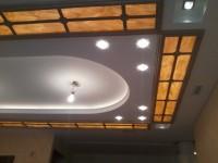 Выполненные кессонные потолки из дерева - Фото 9