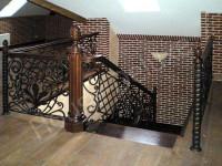 Лестницы с элементами ковки - Фото 12