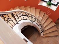 Лестницы с элементами ковки - Фото 13