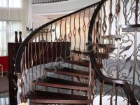 Лестницы с элементами ковки - Фото 9
